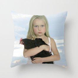 Mea Domina IIa Throw Pillow