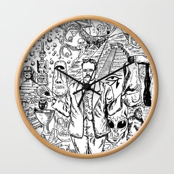 Charles Fort Wall Clock