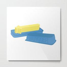 Butter Sword Metal Print