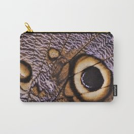 Giant Owl Butterfly Wing Carry-All Pouch