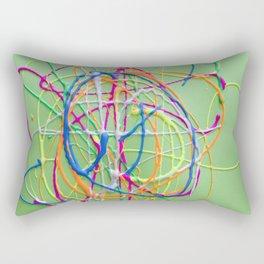 Colors in Team Acrylic Rectangular Pillow
