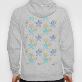 Tropical bloom pattern Hoody