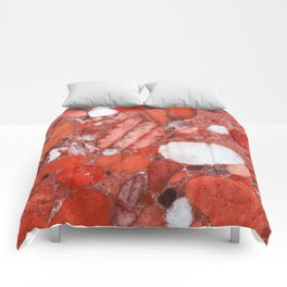 Conglomerate marble pebbles Comforters