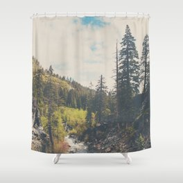 into the wild ...  Shower Curtain