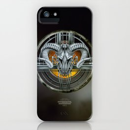 """""""Astrological Mechanism - Aries"""" iPhone Case"""