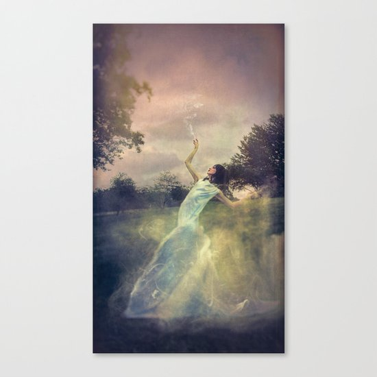 A Muse of Fire Canvas Print