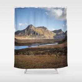 Highland Mountains Shower Curtain