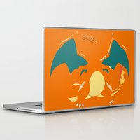 charizard Laptop & iPad Skins featuring Charizard by SEANLAR94