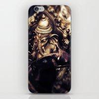 hindu iPhone & iPod Skins featuring Ganesha - Hindu Diety by Dre' Vanhorn