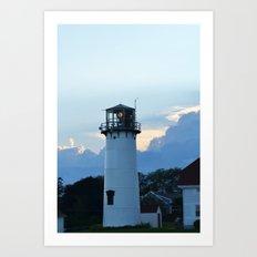 Chatham Light Art Print