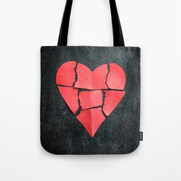 I'm All Torn Up Tote Bag