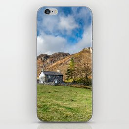 Crafnant Lake Cottage iPhone Skin
