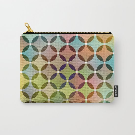 Dots in Dots Carry-All Pouch