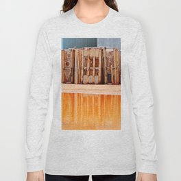 Lobster Traps and Red Sand Long Sleeve T-shirt