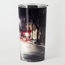 Greenwich Village by Night Travel Mug