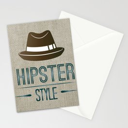 Hipster Style Stationery Cards