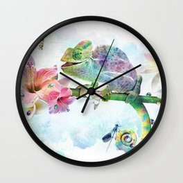 Colors of Life Wall Clock