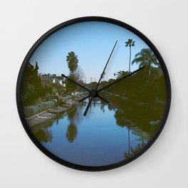 Bleu Venice Wall Clock