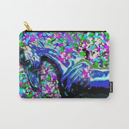 Horse Beneath the Petals Carry-All Pouch