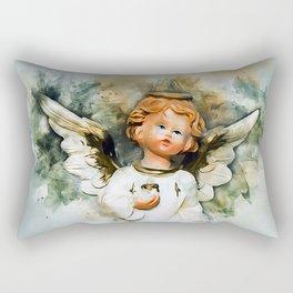 Angel From Heaven Rectangular Pillow