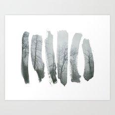 Paint the Stillness Art Print