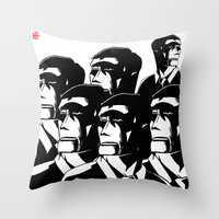 1984 Throw Pillows featuring 1984 by It's Mandra™