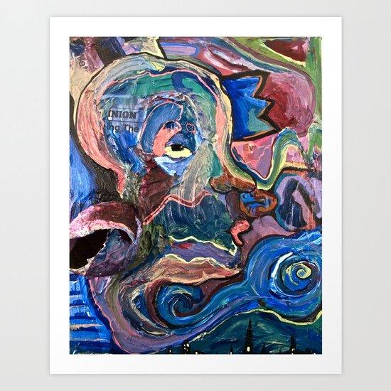 Through The Eyes Art Print