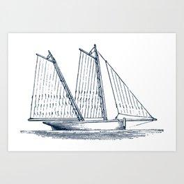 Sailing Vessel Art Print