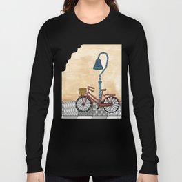 Bicycle on the El Camino Real Long Sleeve T-shirt