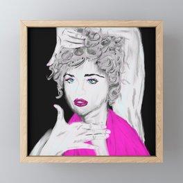 Madonna Framed Mini Art Print