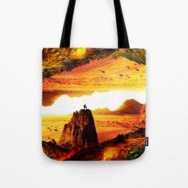 Lava Isolation Tote Bag