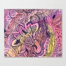 Seaflower Canvas Print