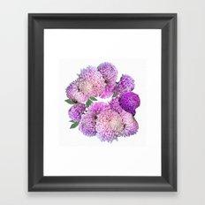 Floral rhapsody Framed Art Print