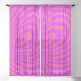 casual spiral Sheer Curtain