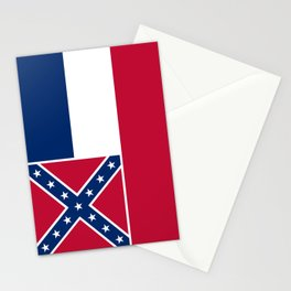 Mississippi State Flag, Authentic Version Stationery Cards
