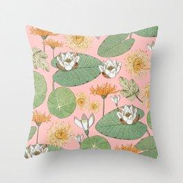 Vintage Royal Gardens #society6artprint #buyart Throw Pillow