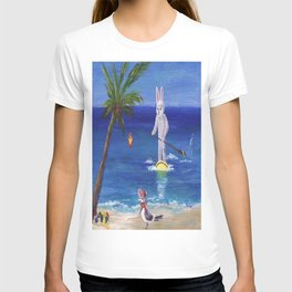 Easter Bunny at the Beach T-shirt