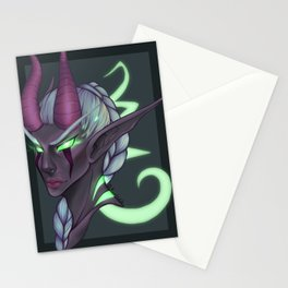 Consumed by Fel Stationery Cards