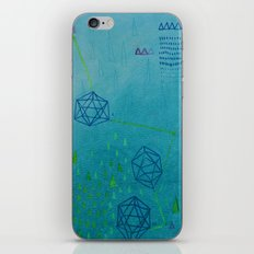 Icosahedron (Water) iPhone & iPod Skin
