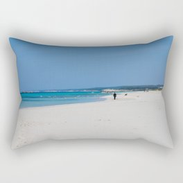 Son Bou, Menorca Rectangular Pillow