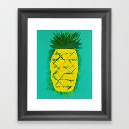 Pineapple (Monumental) Framed Art Print