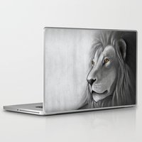 simba Laptop & iPad Skins featuring The Lion King by Puddingshades