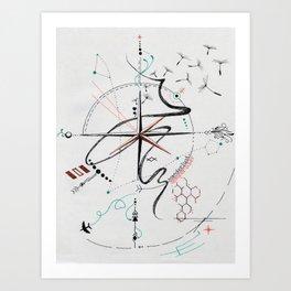 Wanderlust: Semper Liber Art Print