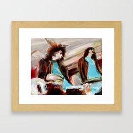 Joey & Jhonny Framed Art Print
