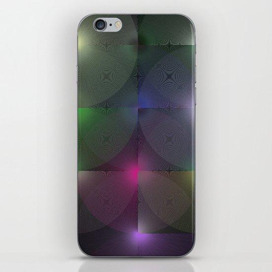 Written Circles #1 society6 custom generation iPhone & iPod Skin