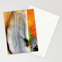Athlete's pain Stationery Cards