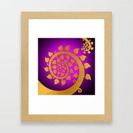 Bodhi Tree0606 Framed Art Print