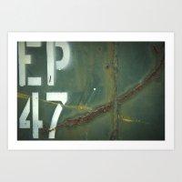 EP47 Art Print
