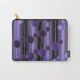 Retro Chic lilac Carry-All Pouch