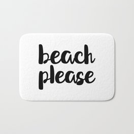 Beach Please Bath Mat